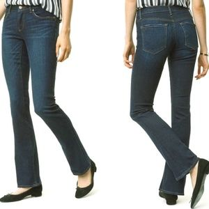 NWT LOFT Curvy Boot Cut Jeans 2P